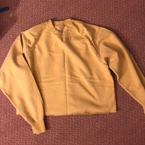 Brandy Melville yellow pullover